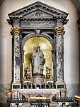 Parish S Martino Vescovo, the colorful village of Burano, Italy.