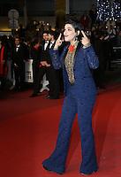 SOKO<br /> MONTEE DES MARCHES DU FILM JUSTE LA FIN DU MONDE<br /> RED CARPET OF THE MOVIE<br /> JUSTE LA FIN DU MONDE<br /> 69 EME FESTIVAL DE CANNES