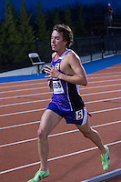 Southwest Baptist University junior Drew Cargrill (West Plains High School) runs to a 6th-place finish in the mens unseeded 5k race in 14:46 at the 2015 Kansas Relays.