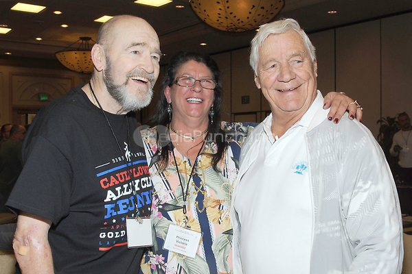LAS VEGAS, NV - MAY 02: Alexis Smirnoff, Princess Victoria and Pat Patterson at the 53rd Cauliflower Alley Club Reunion Convention at the Gold Coast Hotel & Casino in Las Vegas, Nevada on May 2, 2018. Credit: George Napolitano/MediaPunch