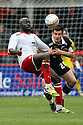 Patrick Agyemang of Stevenage (on loan from QPR) and Bailey Wright of Preston. - Stevenage v Preston North End - npower League 1 - Lamex Stadium, Stevenage - 9th April, 2012. © Kevin Coleman 2012