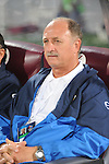 Bunyodkor head coach Felipe Scolari looks on during the  Al-Wahda vs Bunyodkor match as part of the 2010 AFC Champions League Group B on March 9, 2010 at the Al-Nahyan Stadium, Abu Dhabi, United Arab Emirates. Photo by World Sport Group