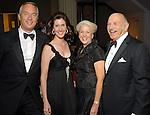 From left: Bobby and Phoebe Tudor with Lorraine and Ed Wulfe at the Houston Symphony's opening night gala dinner at The Corinthian Saturday Sept. 12, 2009. (Dave Rossman/For the Chronicle)