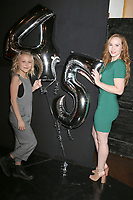LOS ANGELES - MAR 26:  Alyvia Alyn Lind, Camryn Grimes_ at the The Young and The Restless Celebrate 45th Anniversary at CBS Television City on March 26, 2018 in Los Angeles, CA