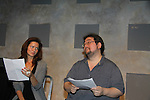 "One Life To Live's Florencia Lozano ""Tea Delgado stars with Scott Sickles (writer OLTL and Artistic Director WorkShop Theatre Co)  in ""Verbatim Verboten - NYC"" on October 18, 2010 at the WorkShop Theater, NYC. (Photo by Sue Coflin/Max Photos)"