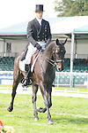 Mark Kyle during day 2 of the dressage phase at the 2012 Land Rover Burghley Horse Trials in Stamford, Lincolnshire,UK.