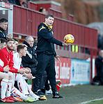 17.04.18 Brechin City v Dundee utd:<br /> Darren Dods