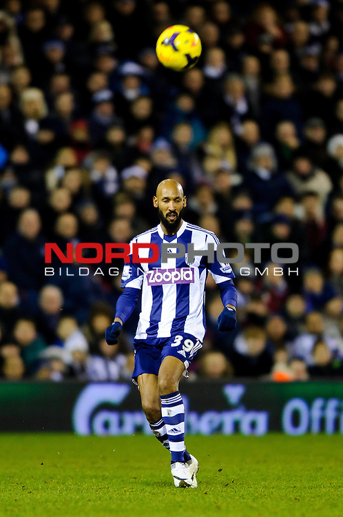 West Brom Forward Nicolas Anelka -  - 20/01/2014 - SPORT - FOOTBALL - The Hawthorns Stadium - West Bromwich Albion v Everton - Barclays Premier League.<br /> Foto nph / Meredith<br /> <br /> ***** OUT OF UK *****