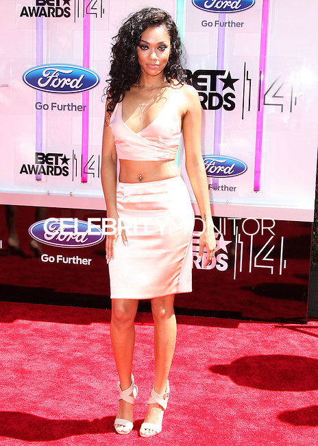 LOS ANGELES, CA, USA - JUNE 29: Shayne Murphy arrives at the 2014 BET Awards held at Nokia Theatre L.A. Live on June 29, 2014 in Los Angeles, California, United States. (Photo by Xavier Collin/Celebrity Monitor)