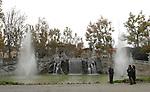 La fontana dei 12 mesi nel Parco del Valentino. The fountain of 12 months in Valentino park.