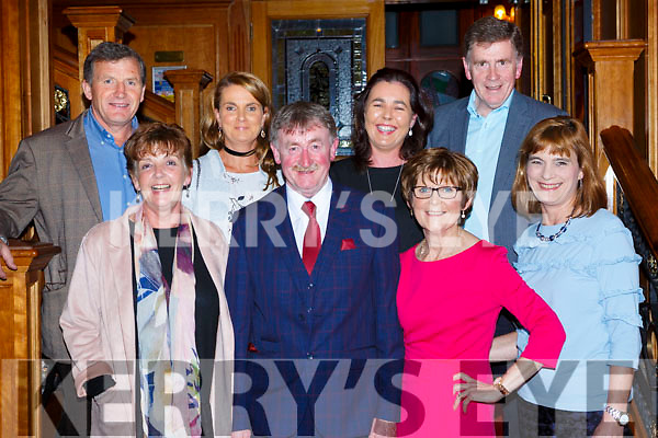 Spa/Fenit/Barrow members at the Kerry Community games awards in the River Island Hotel on Friday night front row l-r: Mary Brennan, JJ and Briget Crowley, Siobhain O'Donnell. Back row: John Brennan, Oonagh McGibrey, Mary Hanafin, and Tom Crowley