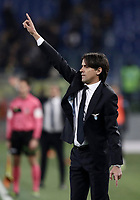 Calcio, Serie A: SS Lazio vs Hellas Verona, Roma, stadio Olimpico, 19 febbraio 2018.<br /> Lazio's coach Simone Inzaghi gestures during the Italian Serie A football match between SS Lazio and Hellas Verona at Rome's Olympic stadium, February 19, 2018.<br /> UPDATE IMAGES PRESS/Isabella Bonotto