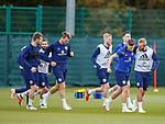 09.10.2018 Scotland training, Oriam: Kieran Tierney and Jonny Russell