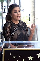 APR 16 Eva Longoria Hollywood Walk Of Fame Ceremony