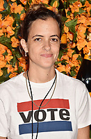 PACIFIC PALISADES, CA - OCTOBER 06: Samantha Ronson arrives at the 9th Annual Veuve Clicquot Polo Classic Los Angeles at Will Rogers State Historic Park on October 6, 2018 in Pacific Palisades, California.<br /> CAP/ROT/TM<br /> &copy;TM/ROT/Capital Pictures