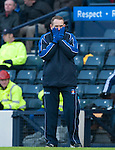 GLASGOW, SCOTLAND - JANUARY 28:  Kilmarnock boss Ken Shiels during the Scottish Communities Cup Semi Final match between Ayr United and Kilmarnock at Hampden Park on January 28, 2012 in Glasgow, United Kingdom. (Photo by Rob Casey/Getty Images).