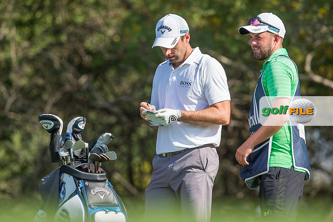 Oliver Wilson (ENG) during the 3rd round of the Alfred Dunhill Championship, Leopard Creek Golf Club, Malelane, South Africa. 15/12/2018<br /> Picture: Golffile | Tyrone Winfield<br /> <br /> <br /> All photo usage must carry mandatory copyright credit (&copy; Golffile | Tyrone Winfield)