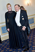 www.acepixs.com<br /> <br /> February 8 2018, Vienna<br /> <br /> Actress Melanie Griffith and Richard Lugner attending the Vienna Opera Ball on February 8 2018 in Vienna, Austria<br />  <br /> By Line: Famous/ACE Pictures<br /> <br /> <br /> ACE Pictures Inc<br /> Tel: 6467670430<br /> Email: info@acepixs.com<br /> www.acepixs.com