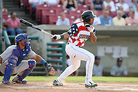 July 3, 2007: Jermaine Mitchell of the Kane County Cougars at Elfstrom Stadium in Geneva, IL  Photo by:  Chris Proctor/Four Seam Images