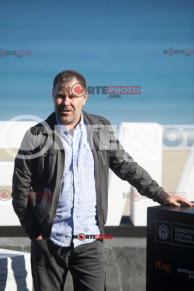 Actor Ander Lipus poses during `Amama´ film presenation at 63rd Donostia Zinemaldia (San Sebastian International Film Festival) in San Sebastian, Spain. September 21, 2015. (ALTERPHOTOS/Victor Blanco) /NortePhoto.com