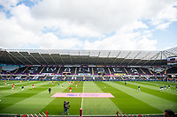 Sunday April 02 2017 <br /> Pictured:   General View of the liberty stadium ahead of the game. <br /> Re: Premier League match between Swansea City and Middlesbrough at The Liberty Stadium, Swansea, Wales, UK. SUnday 02 April 2017
