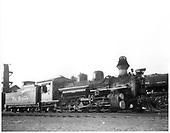 D&amp;RGW #476 K-28 at Durango.<br /> D&amp;RGW  Durango, CO  Taken by Payne, Andy M. - 6/23/1958