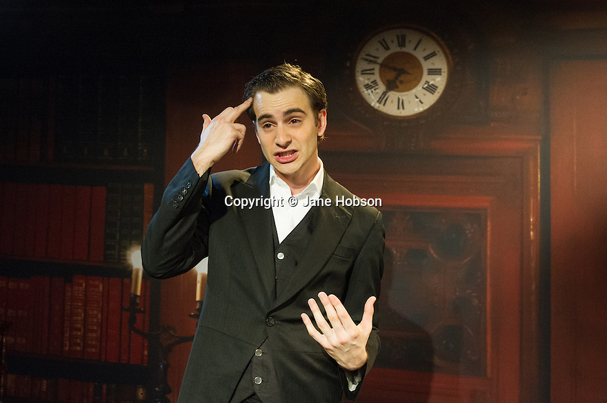 London, UK. 28.01.2014. Luke Kempner's THE ONLY WAY IS DOWNTON opens at the Trafalgar Studios. Written and performed by Luke Kempner, the show is directed by Oqen Lewis. Photograph © Jane Hobson.