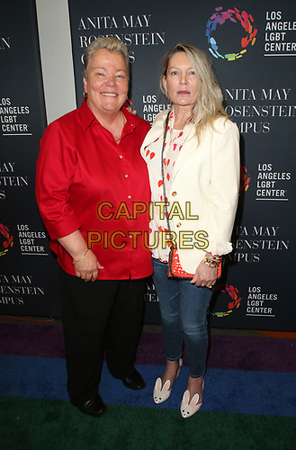 LOS ANGELES, CA -APRIL 7: Lorri Jean, Ariadne Getty, at Grand Opening Of The Los Angeles LGBT Center's Anita May Rosenstein Campus at Anita May Rosenstein Campus in Los Angeles, California on April 7, 2019.<br /> CAP/MPIFS<br /> ©MPIFS/Capital Pictures