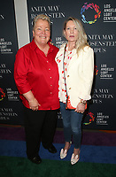 LOS ANGELES, CA -APRIL 7: Lorri Jean, Ariadne Getty, at Grand Opening Of The Los Angeles LGBT Center's Anita May Rosenstein Campus at Anita May Rosenstein Campus in Los Angeles, California on April 7, 2019.<br /> CAP/MPIFS<br /> &copy;MPIFS/Capital Pictures