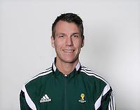 FUSSBALL Fototermin FIFA WM Schiedsrichterassistenten 09.04.2014 Mathias KLASENIUS (Schweden)