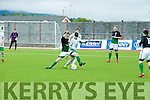 In Action Bray's Michael Gardiner and Kerry's Thomas Burke at SSE Airtricity U17 League Game  Kerry V Bray Wanderers at Mounthawk Park on Sunday