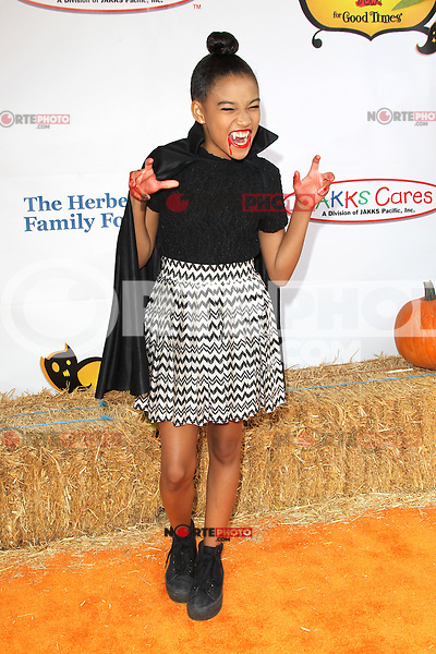 UNIVERSAL CITY, CA - OCTOBER 21:  Amandla Stenberg at the Camp Ronald McDonald for Good Times 20th Annual Halloween Carnival at the Universal Studios Backlot on October 21, 2012 in Universal City, California. ©mpi28/MediaPunch Inc. /NortePhoto