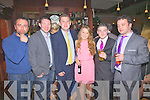 Pictured here at the Miss Iveragh Contest in the Ring of Kerry Hotel on Sunday night last were l-r; Gerald O'Connell, Shane O'Neill, Mike Golden, Sophie Gummerson, Josh Thompson & Rory McCarthy.