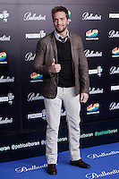 Pablo Alboran attends 40 Principales awards photocall  2012 at Palacio de los Deportes in Madrid, Spain. January 24, 2013. (ALTERPHOTOS/Caro Marin) /NortePhoto