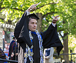 A photograph from the University of Nevada College of Liberal Arts and Donald W. Reynolds School of Journalism graduation ceremony on Saturday morning, May 20, 2017.