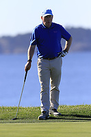 Gerry McManus (IRL) on the 7th green at Pebble Beach course during Friday's Round 2 of the 2018 AT&amp;T Pebble Beach Pro-Am, held over 3 courses Pebble Beach, Spyglass Hill and Monterey, California, USA. 9th February 2018.<br /> Picture: Eoin Clarke | Golffile<br /> <br /> <br /> All photos usage must carry mandatory copyright credit (&copy; Golffile | Eoin Clarke)