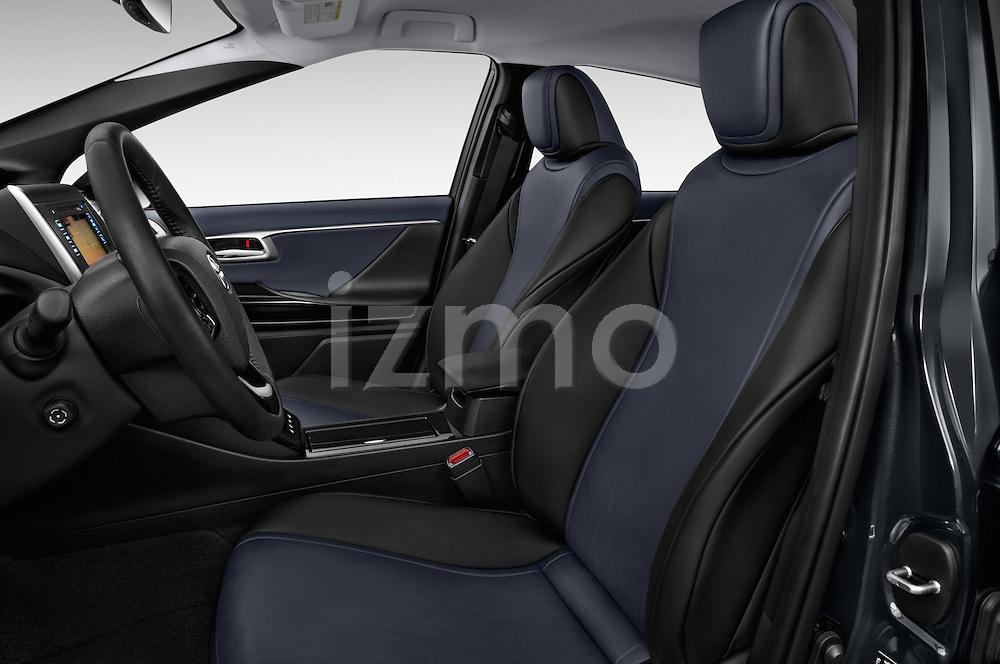 Front seat view of 2016 Toyota Mirai Mirai 4 Door Sedan Front Seat  car photos