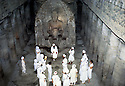 Yogi Bhajan on the Yatra at the Ajantha and Ellora Caves in India in February, 1980