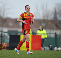 U17 Belgian Red Flames - Nigeria :<br /> <br />  Charlotte Van Ishoven<br /> <br /> <br /> foto Dirk Vuylsteke / Nikonpro.be