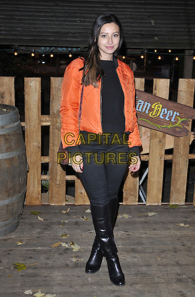 LONDON, ENGLAND - NOVEMBER 20: Leah Weller attends the Hyde Park Winter Wonderland VIP launch, Hyde Park, on Thursday November 20, 2014 in London, England, UK. <br /> CAP/CAN<br /> &copy;Can Nguyen/Capital Pictures