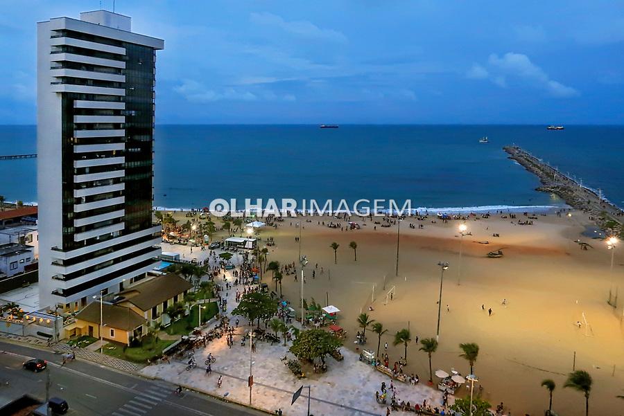 Praia de Iracema, Fortaleza, Ceara. 2018. Foto © Juca Martins