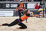 09.05.2015, Muenster, Schlossplatz<br /> smart beach tour, Supercup MŸnster / Muenster, Hauptfeld<br /> <br /> Abwehr Katrin Holtwick <br /> <br />   Foto &copy; nordphoto / Kurth