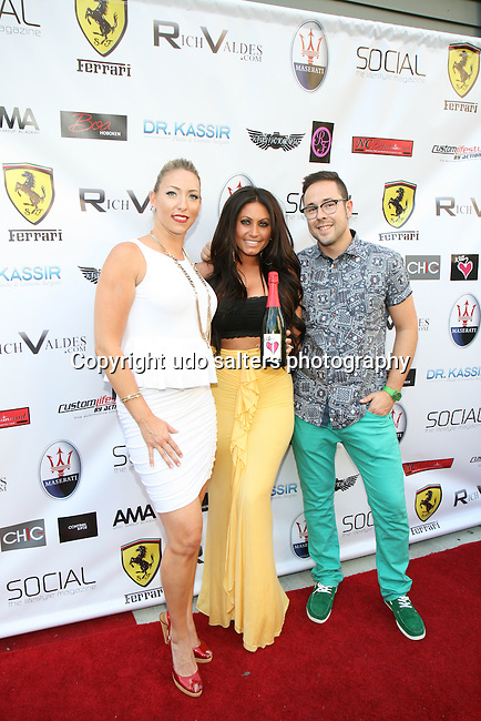 Presto Wine USA llc., Lauren Pacailler, Jerseylicious' Tracy DiMarco  and Guest Attend Metropolitan Bikini Fashion Weekend 2013 Held at BOA Sponsored by Social Magazine, Maserati and Ferrari, Hoboken NJ