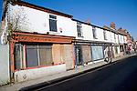 Derelict shops, Upper Orwell Street, Ipswich, Suffolk