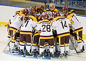 - The University of Minnesota Duluth Bulldogs defeated the University of Maine Black Bears 5-2 in their NCAA Northeast semifinal on Saturday, March 24, 2012, at the DCU Center in Worcester, Massachusetts.