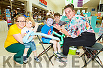 Kyle Lucid having his face painted at the Manor West Food and Crafts Fair in Manor on Saturday.<br /> L to r: Amy, Evan and Kyle Lucid, Samantha Houlihan and Tristen Kirwan.