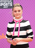 LOS ANGELES, CA July 13- Lizzy Greene, At Nickelodeon Kids' Choice Sports Awards 2017 at The Pauley Pavilion, California on July 13, 2017. Credit: Faye Sadou/MediaPunch