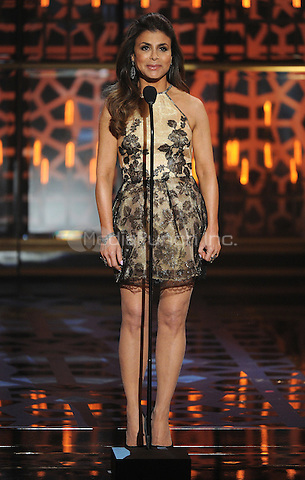 BEVERLY HILLS, CA - APRIL 11: Paula Abdul appears on the 2015 TV Land Awards at the Saban Theater on April 11, 2015 in Beverly Hills, California. FMPG/MediaPunch