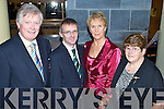 4418-4425.Night Out - Captains & Presidents enjoying The Ardfert Golf Club Joint Captain's Dinner Dance held in The Ballyroe Heights Hotel on Saturday night. Seated l/r James Kennedy, President, Jim Crowley, Captain, Margaret Murphy, Ladies Captain and Rebecca McCarthy, Ladies President....................................................................... ............   Copyright Kerry's Eye 2008