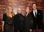 Sonia Friedman, Paula Marie Black, Claire Van Kampen and Neil Constable attends the Broadway Opening Night performance After Party for 'Farinelli and the King' at The Belasco Theatre on December 17, 2017 in New York City.